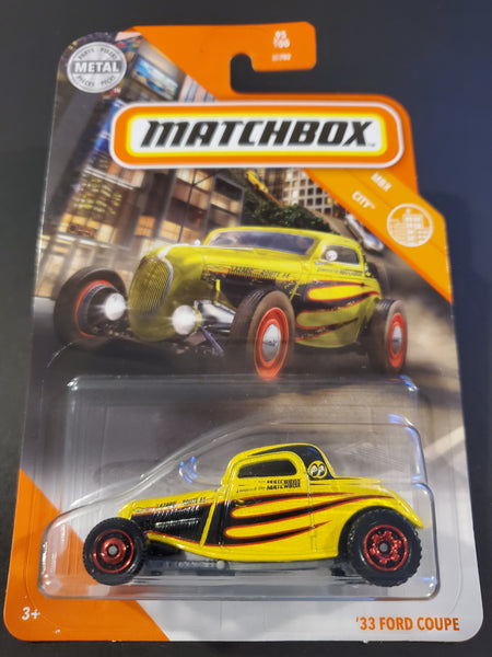 Matchbox - '33 Ford Coupe - 2020