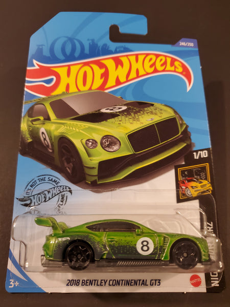 Hot Wheels - 2018 Bentley Continental GT3 - 2020