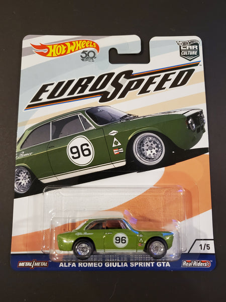 Hot Wheels - Alfa Romeo Giulia Sprint GTA - 2018 Euro Speed Series