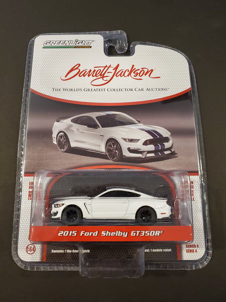 Greenlight - 2015 Ford Shelby GT350R - 2019 Barret-Jackson Series 4