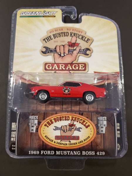 Greenlight - 1969 Ford Mustang Boss 429 - 2019 The Busted Knuckle Garage Series