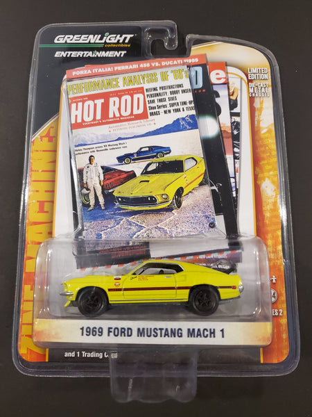 Greenlight - 1969 Ford Mustang Mach 1 - 2012 Entertainment Series