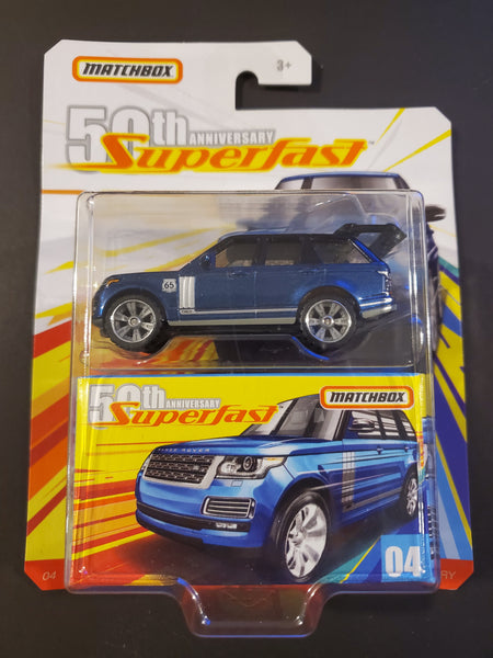 Matchbox - '18 Range Rover LWB - 2018 50th Anniversary Superfast Series