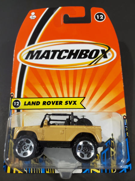 Matchbox - Land Rover SVX - 2005