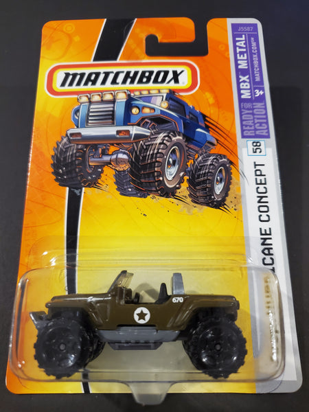 Matchbox - Jeep Hurricane - 2006