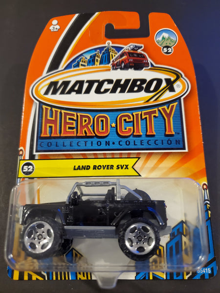Matchbox - Land Rover SVX - 2004