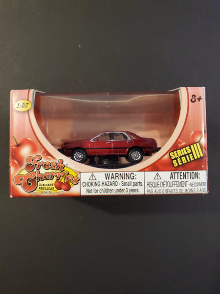 Motor Max - 1984 Ford Tempo - Fresh Cherries Series 1:87 Scale