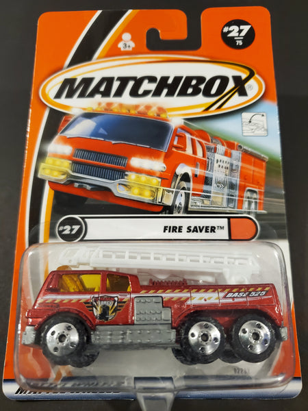 Matchbox - Ladder Truck - 2001