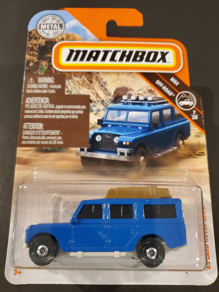 Matchbox - '65 Land Rover Gen II - 2019
