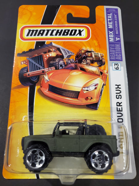 Matchbox - Land Rover SVX - 2006