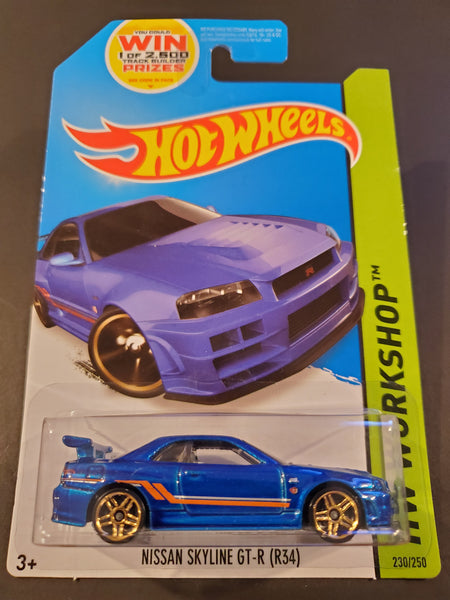 Hot Wheels - Nissan Skyline GT-R (R34) - 2014