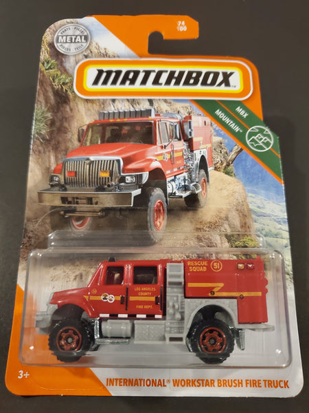 Matchbox - International Workstar Brush Fire Truck - 2020