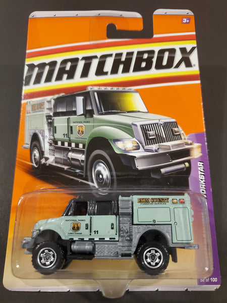 Matchbox - International Workstar Brush Fire Truck - 2011