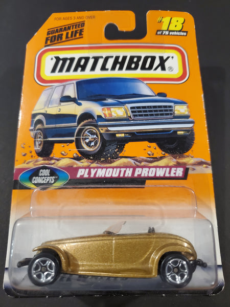Matchbox -  Plymouth Prowler - 1998