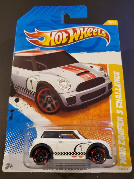 Hot Wheels - Mini Cooper S Challenge - 2011