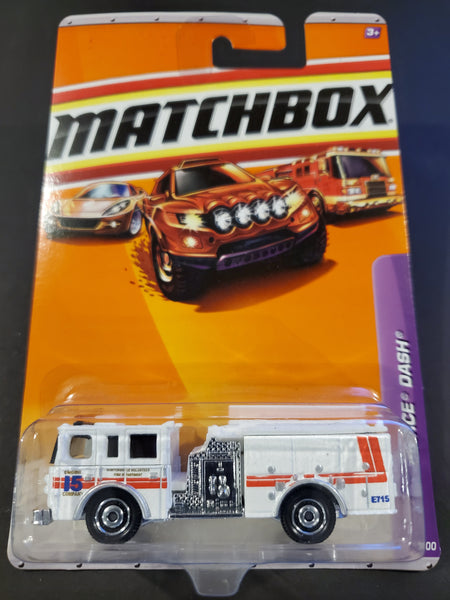 Matchbox - Pierce Dash Fire Engine - 2010