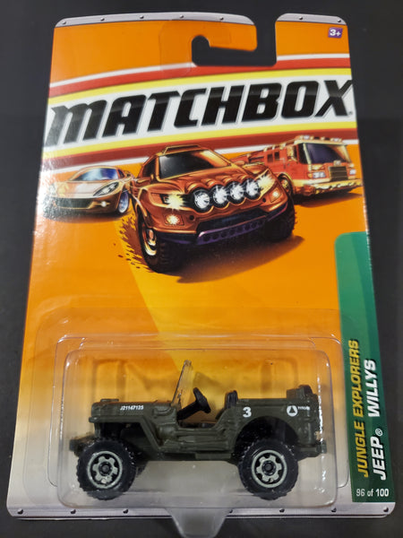 Matchbox - Jeep Willys - 2010