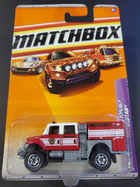 Matchbox - International Workstar Brush Fire Truck - 2010