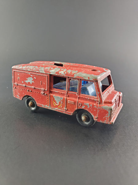 Matchbox - Land Rover Fire Truck - 1966