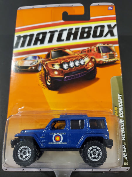 Matchbox - Jeep Rescue Concept - 2009