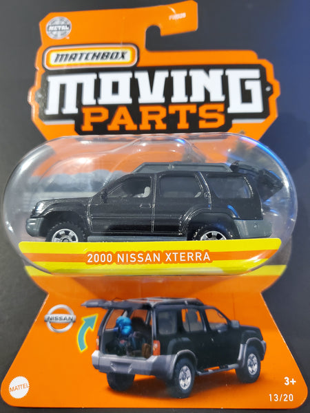 Matchbox - 2000 Nissan Xterra - 2021 Moving Parts Series