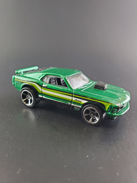Hot Wheels - '70 Mustang Mach 1 - 2014