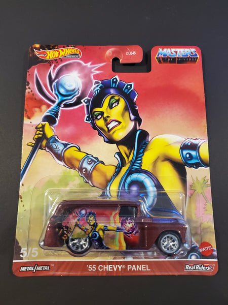 Hot Wheels - '55 Chevy Panel - 2021 Masters of the Universe Series