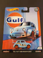 Hot Wheels - '60 Fiat 500D Modificado - 2019 Gulf Series