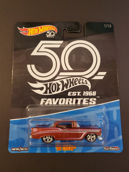 Hot Wheels - '56 Chevy - 2018 50th Favorites Series