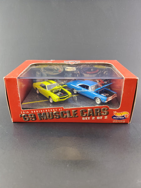 Hot Wheels - 30th Anniversary of '69 Muscle Cars I 2-Car Set - 1999