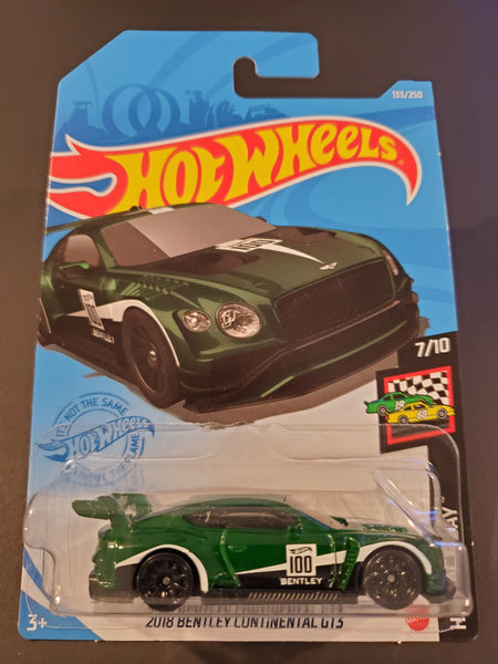 Hot Wheels - 2018 Bentley Continental GT3 - 2021