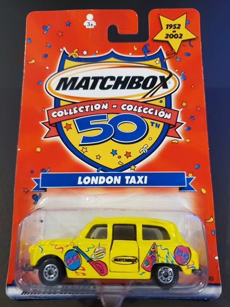 Matchbox - London Taxi  - 2002 50th Collection Series