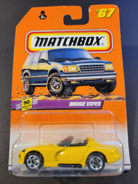 Matchbox -  Dodge Viper RT/10 - 1998