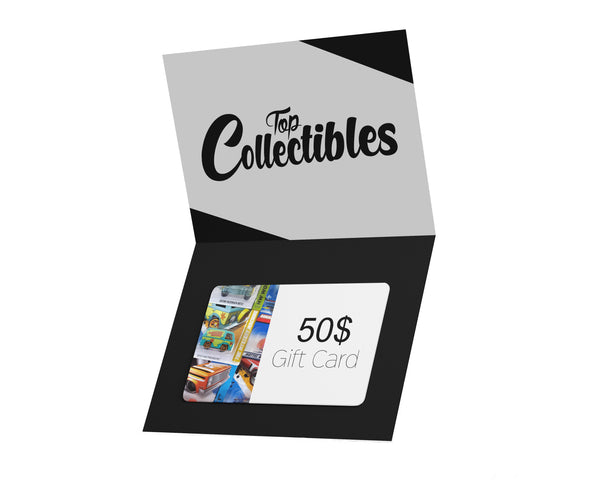 Gift Cards - Top Collectibles
