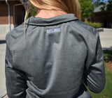 North Face Gray Half Zip - Women's