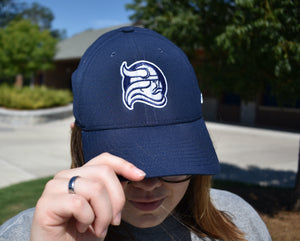 Nike Navy Dri-Fit Hat with Viking Head