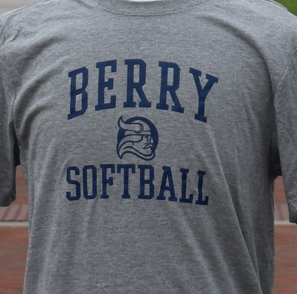 Nike Berry Softball Tee - Gray