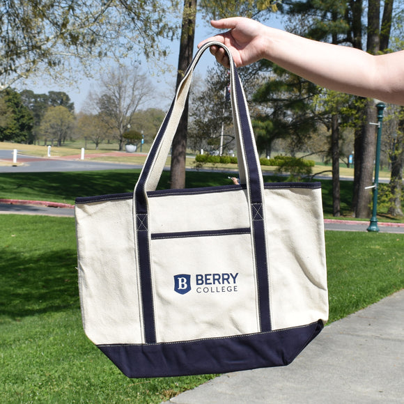 Port Authority Canvas Tote - Navy