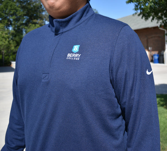 Men's Nike Dri-Fit Quarter Zip - Navy