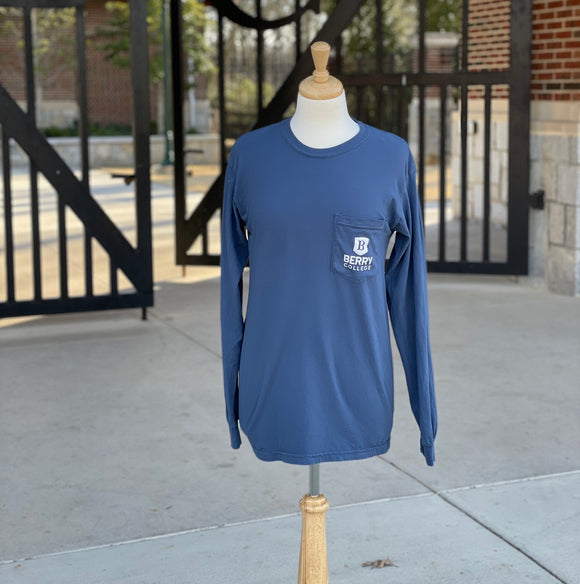 Comfort Colors Long Sleeve - Navy