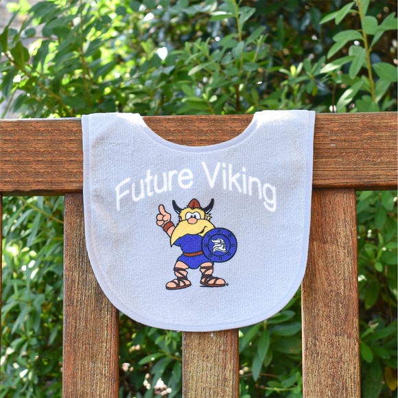 Future Viking Bib - Gray