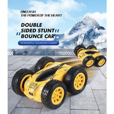2.4G 4CH Double-sided bounce RC Drift Stunt Car VSthingymajig