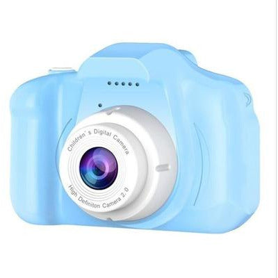 Children Kids Camera Mini Educational Digital Camera 1080P VSthingymajig Blue Without Micro SD