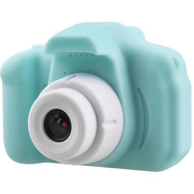Children Kids Camera Mini Educational Digital Camera 1080P VSthingymajig Green Without Micro SD