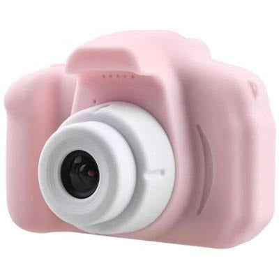 Children Kids Camera Mini Educational Digital Camera 1080P VSthingymajig Pink Without Micro SD