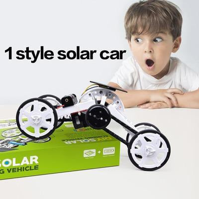 Educational Solar Powered Robot & Car Kit VSthingymajig DIY008