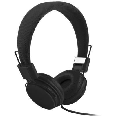 High Quality stereo bass Kids headphones With Microphone VSthingymajig black
