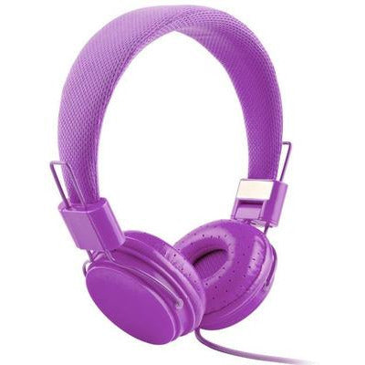 High Quality stereo bass Kids headphones With Microphone VSthingymajig purple