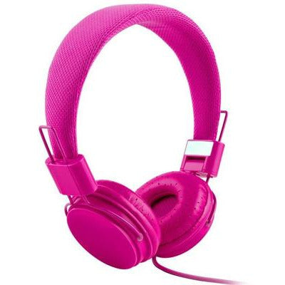High Quality stereo bass Kids headphones With Microphone VSthingymajig rose red