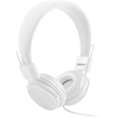 High Quality stereo bass Kids headphones With Microphone VSthingymajig white